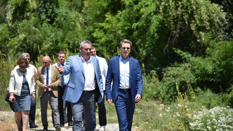 Градежен институт Македонија АД Скопје ја реконструира браната Слатино