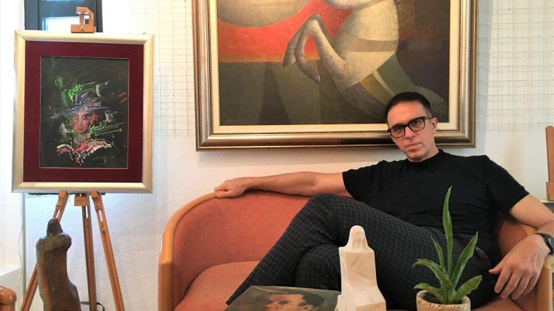 """Ако уметноста умее да зборува, би рекла """"Сѐ што ќе замислиш е реално."""" – Алберто Пренков, Галерија РА"""